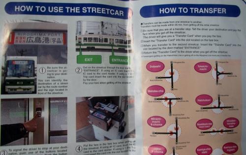 Règles du tram à Hiroshima
