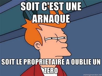 Arnaque?