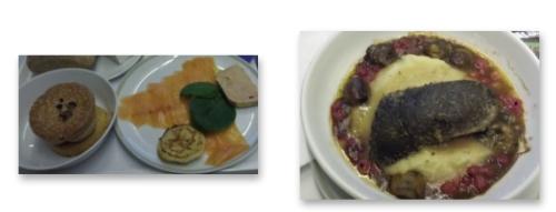 Gastronomie à la française par Air Napoléon : prétentieux, cher payé, mais raté